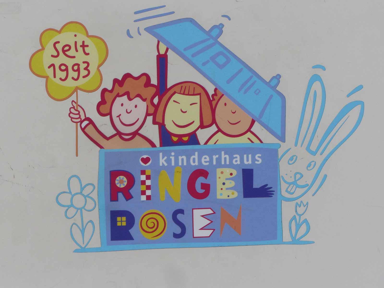 Kinderhaus Ringelrosen an der Rosengartenstrasse 69.