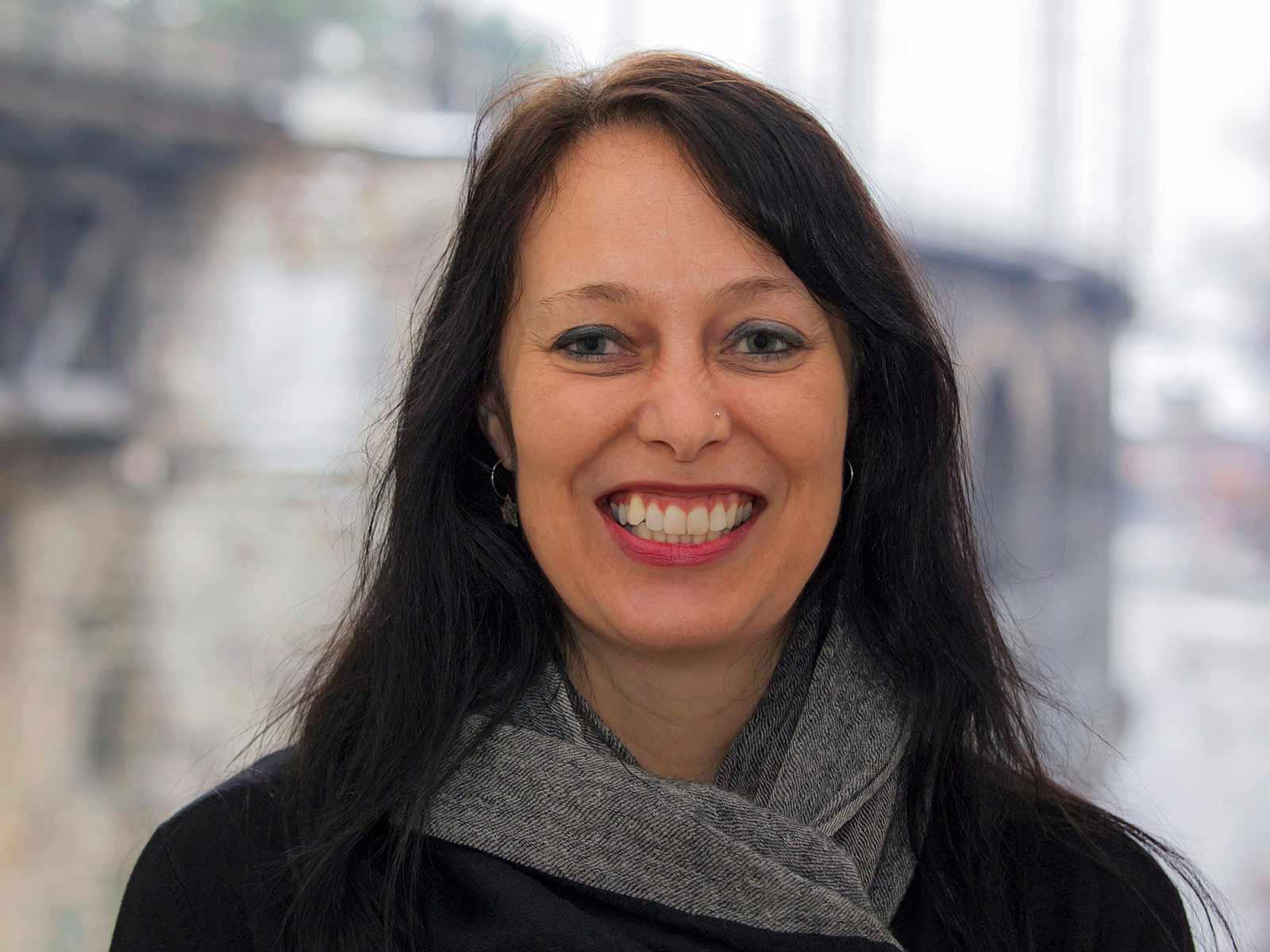 Andrea Rüegg, Mitarbeiterin der Quartierkoordination, Soziale Dienste Zürich