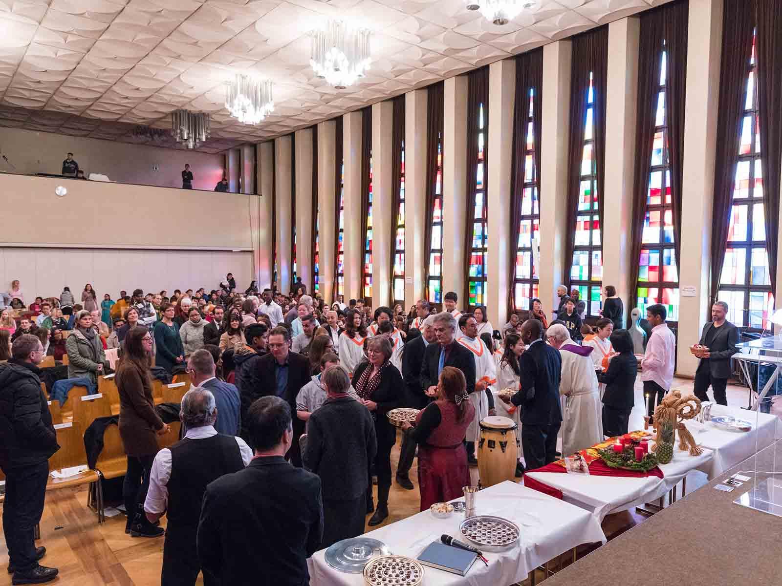 Gemeinsamer Gottesdienst am 1. Advent.