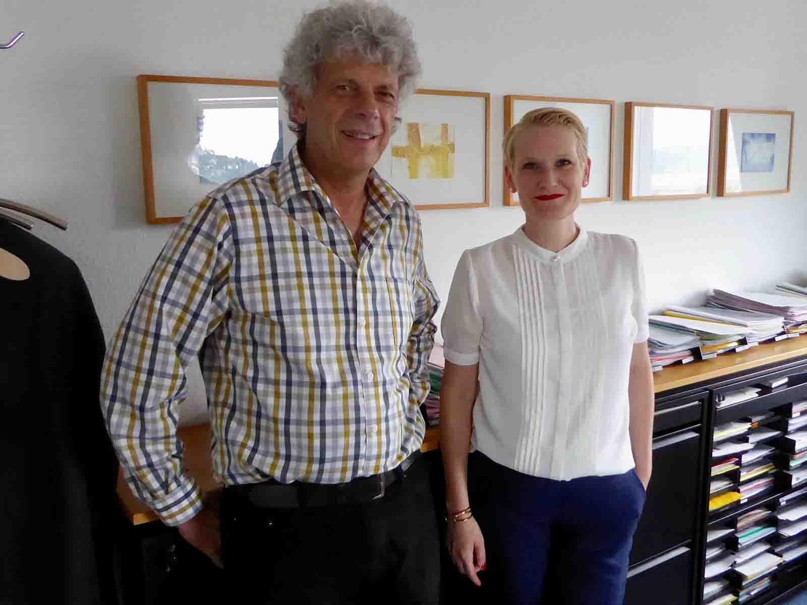 Bereit für den Schulkreis Waidberg: Gabriela Rothenfluh übernimmt von Urs Berger das Schulpräsidium.