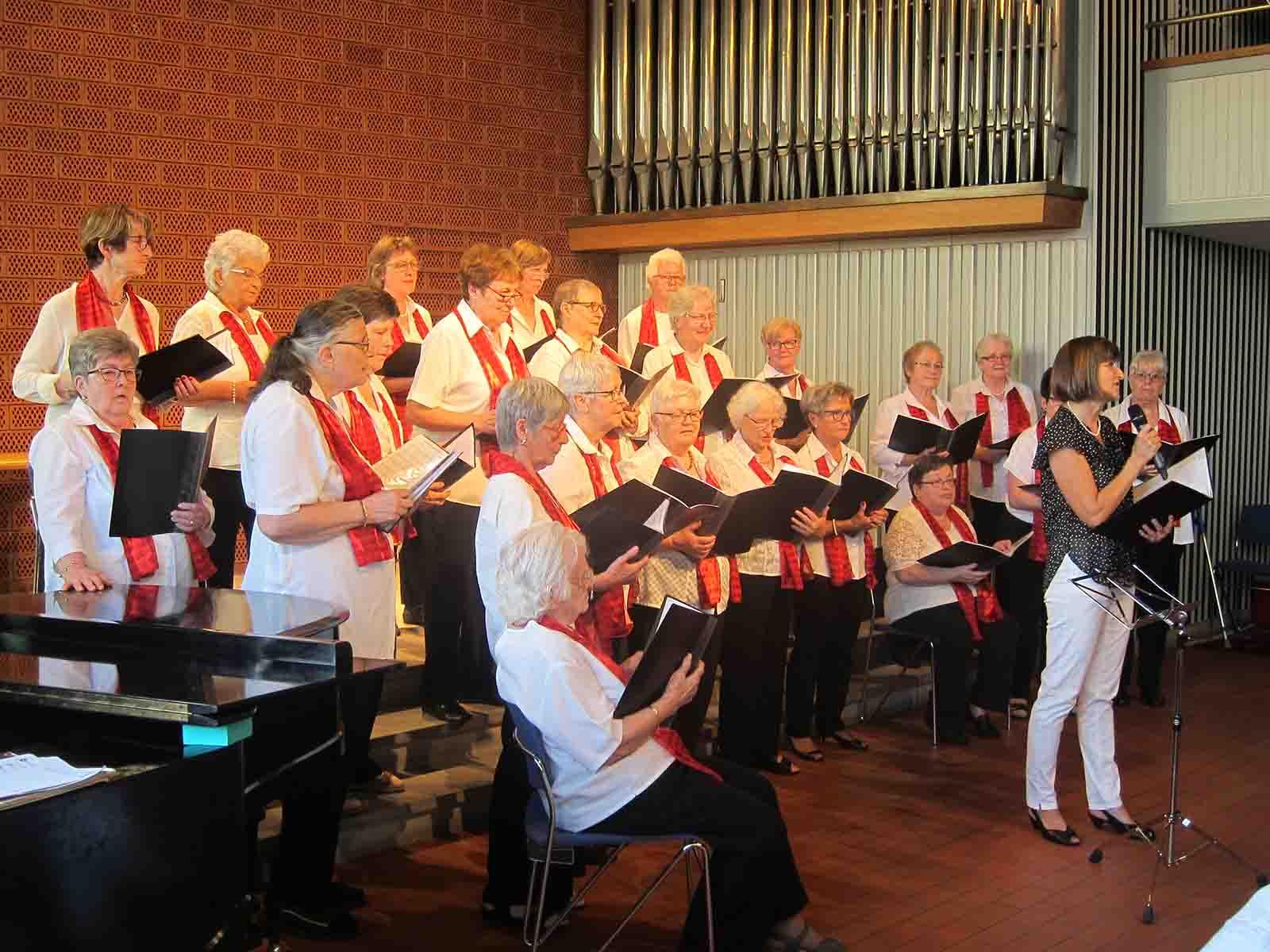Frauenchor Wipkingen mit neuer Dirigentin