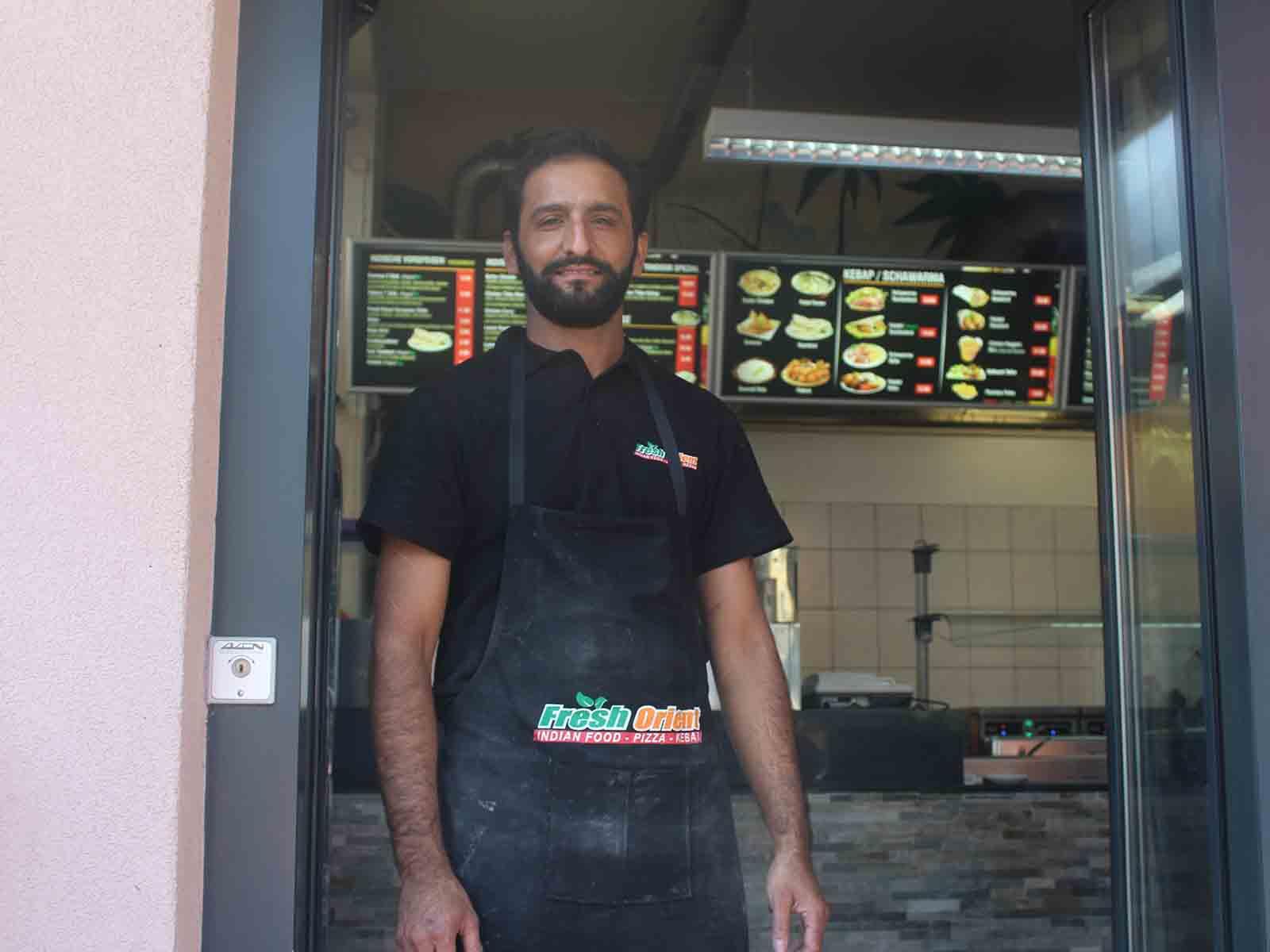 Die Selbstständigkeit bedeutet für Inam ur Rehman harte Arbeit, ist aber auch sehr erfüllend.