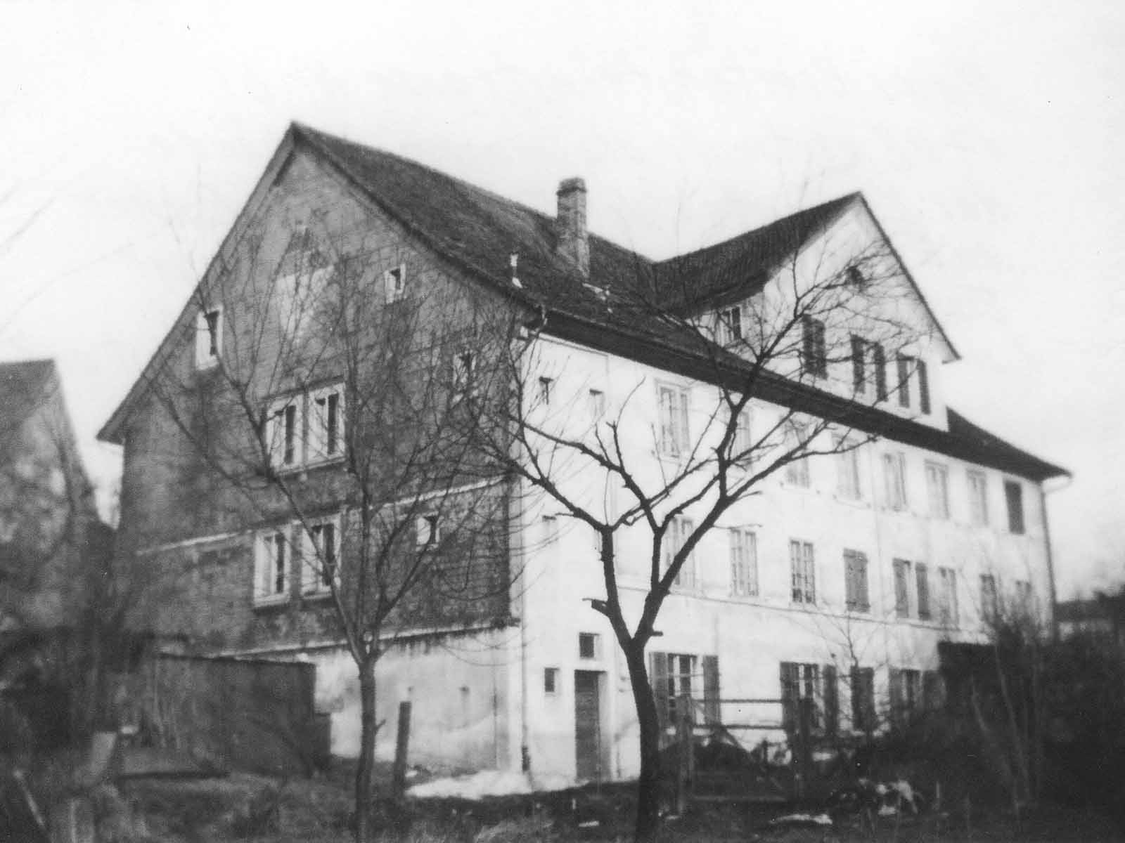 Haus an der Breitensteinstrasse 61. In diesem Haus wurde Ernst Max Häusler Senior 1908 geboren.
