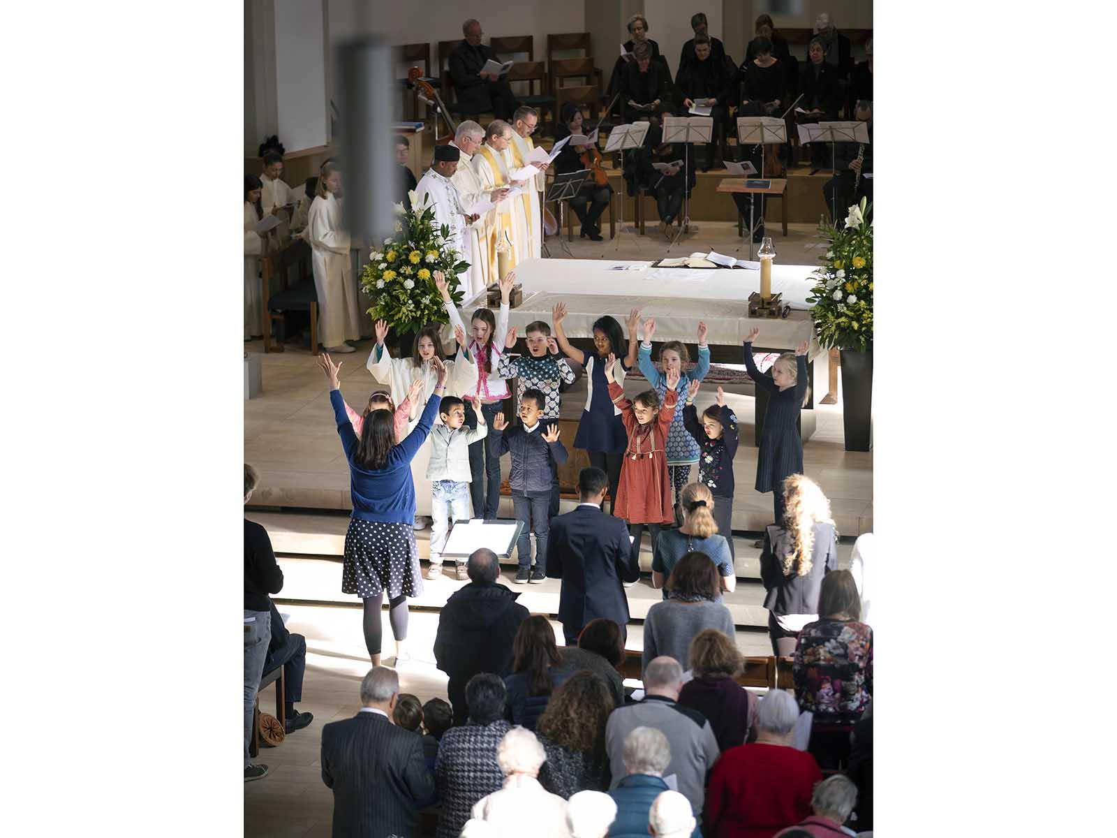 Einsegnung Guthirt Kirche, Wipkingen