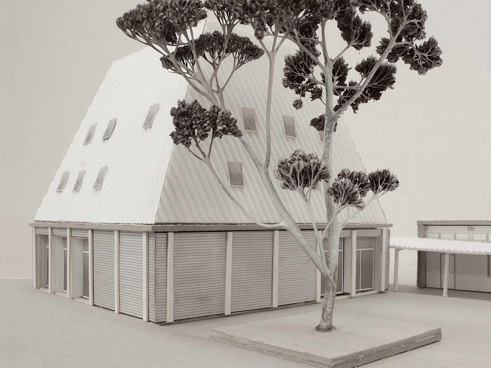 """Modellfoto des """"Konzept unter Bäumen"""""""