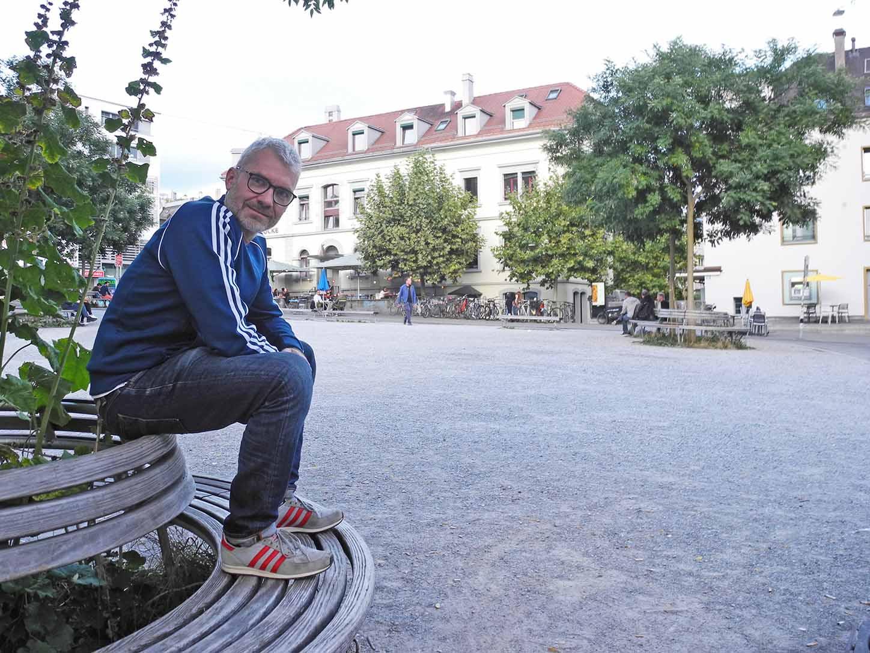 Daniel Otevrel aus Deutschland arbeitet als Ballettmeister und erlebt Zürich als weltoffene Stadt.