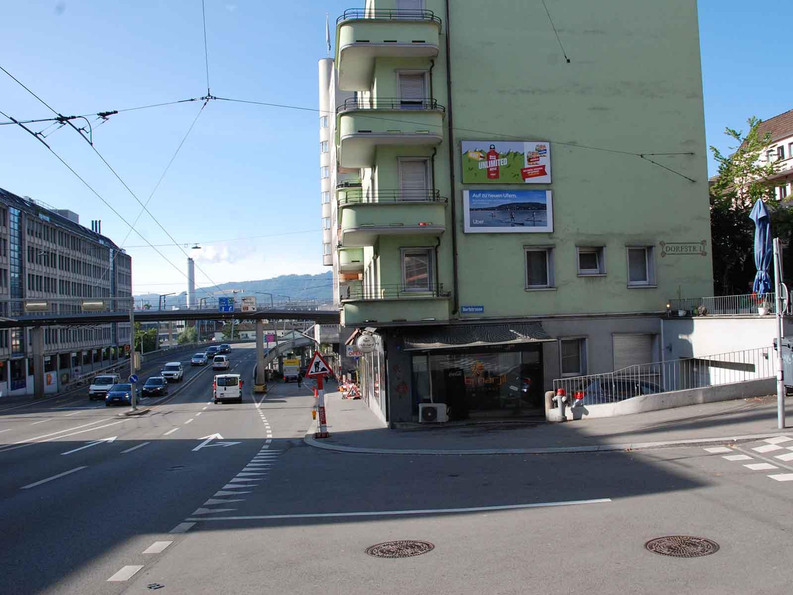 Attraktive Ladengeschäfte auch an Orten, wo man es nicht erwartet: «z'Wipkinge findsch es!», auch an der Rosengartenstrasse.