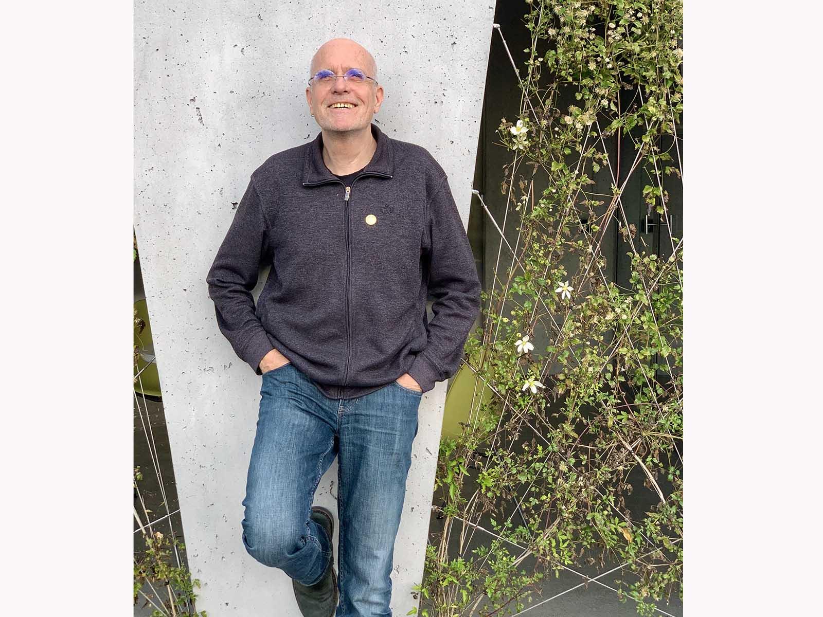 Seit 22 Jahren am Tanzhaus: Techniker Anutoshen M. Hüer