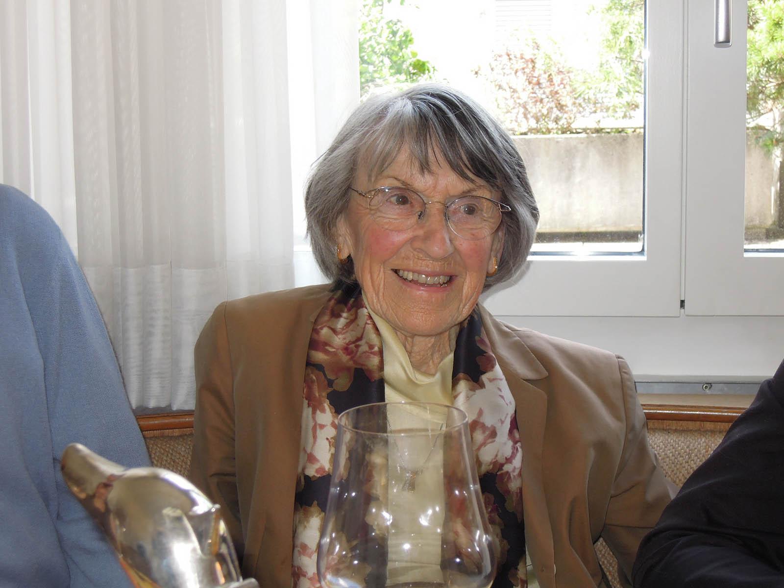 Ruth Fierz lebt seit 91 Jahren in Wipkingen.a