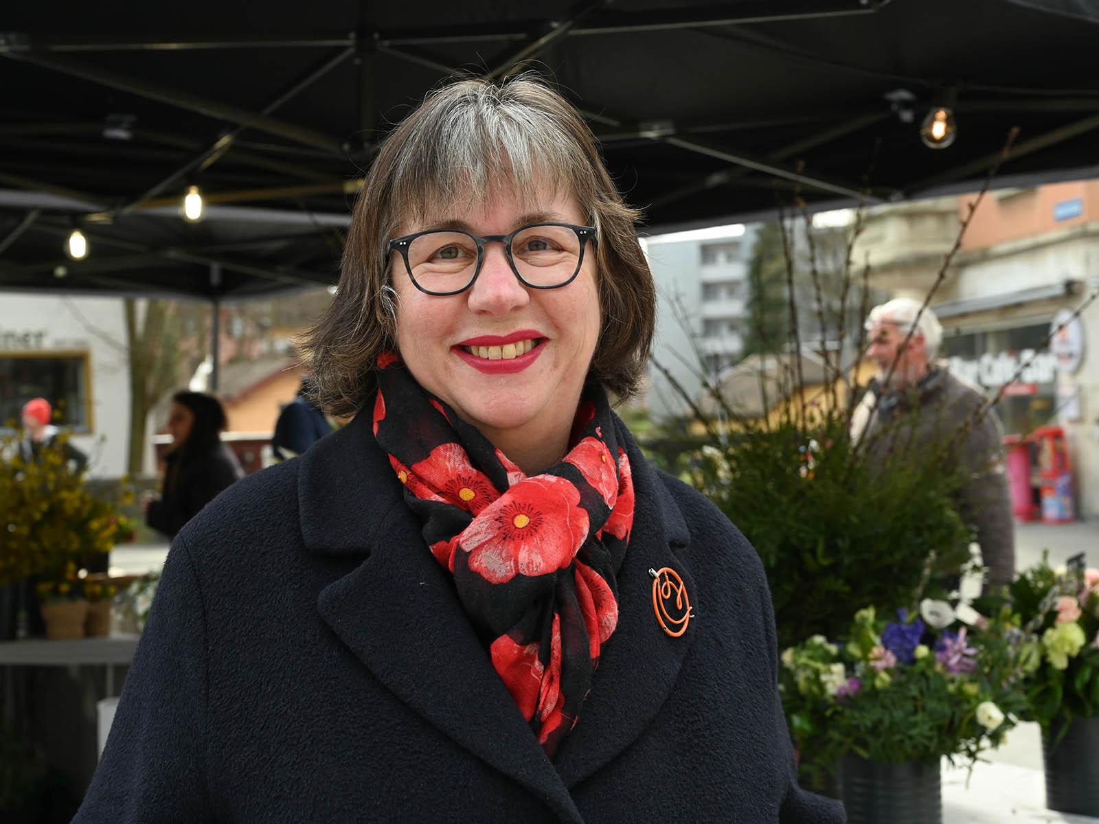 AL-Kantonsrätin Judith Stofer setzt sich für den Ausbau der ausserschulischen Kinderbetreuung ein.