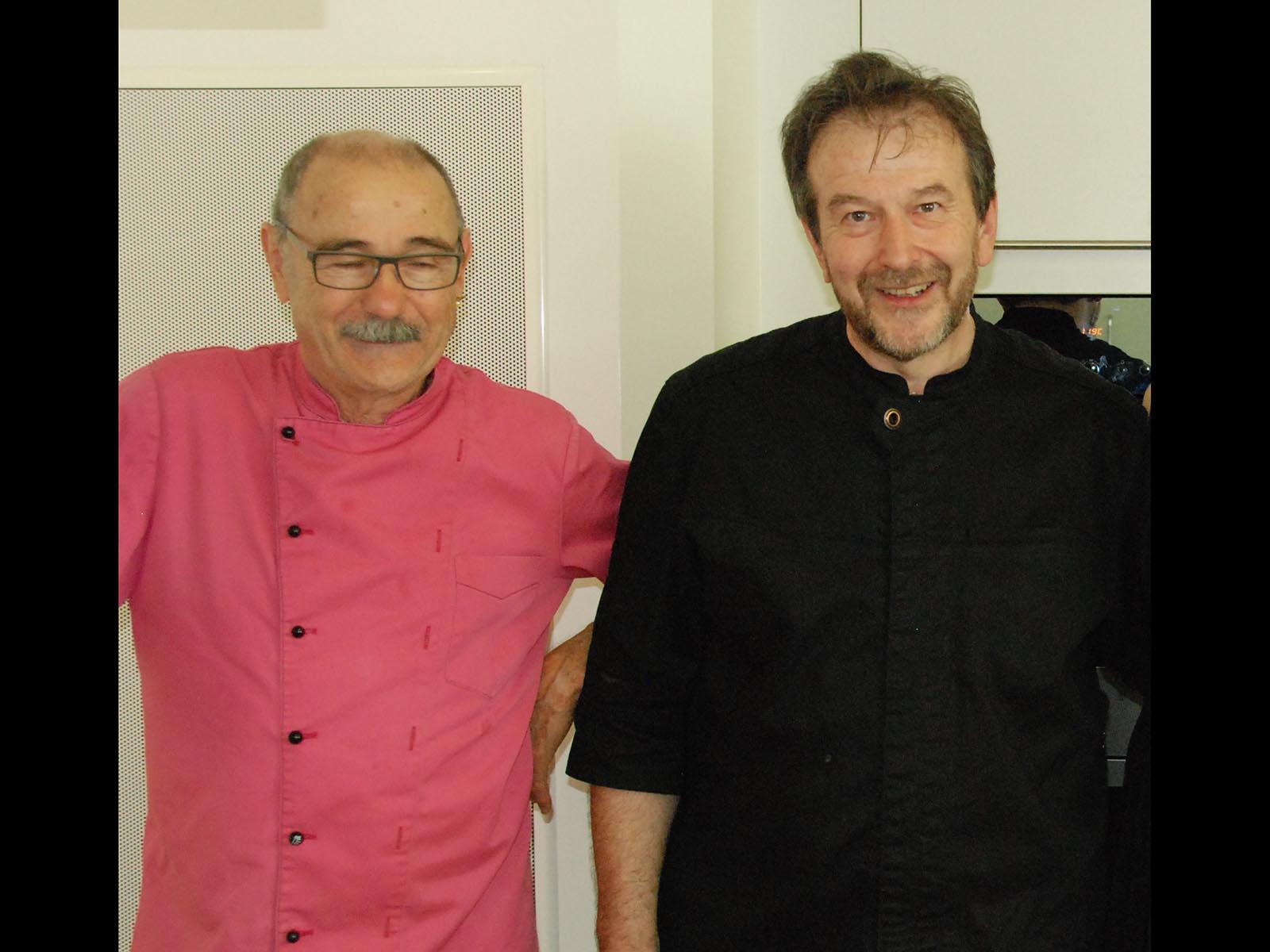 Sämi Raess (l), und Peter Bechter.