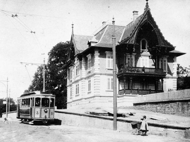 Im Kehlhof eröffnete der Frauenverein Wipkingen 1918 die erste Kinderkrippe.