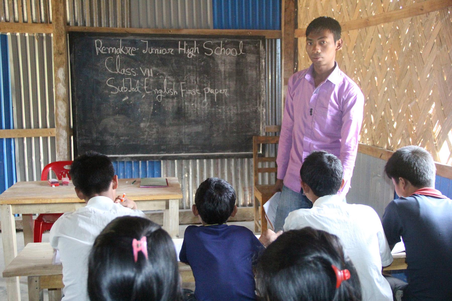Erster Abgänger des Studentenwohnheims wird selbst Lehrer.