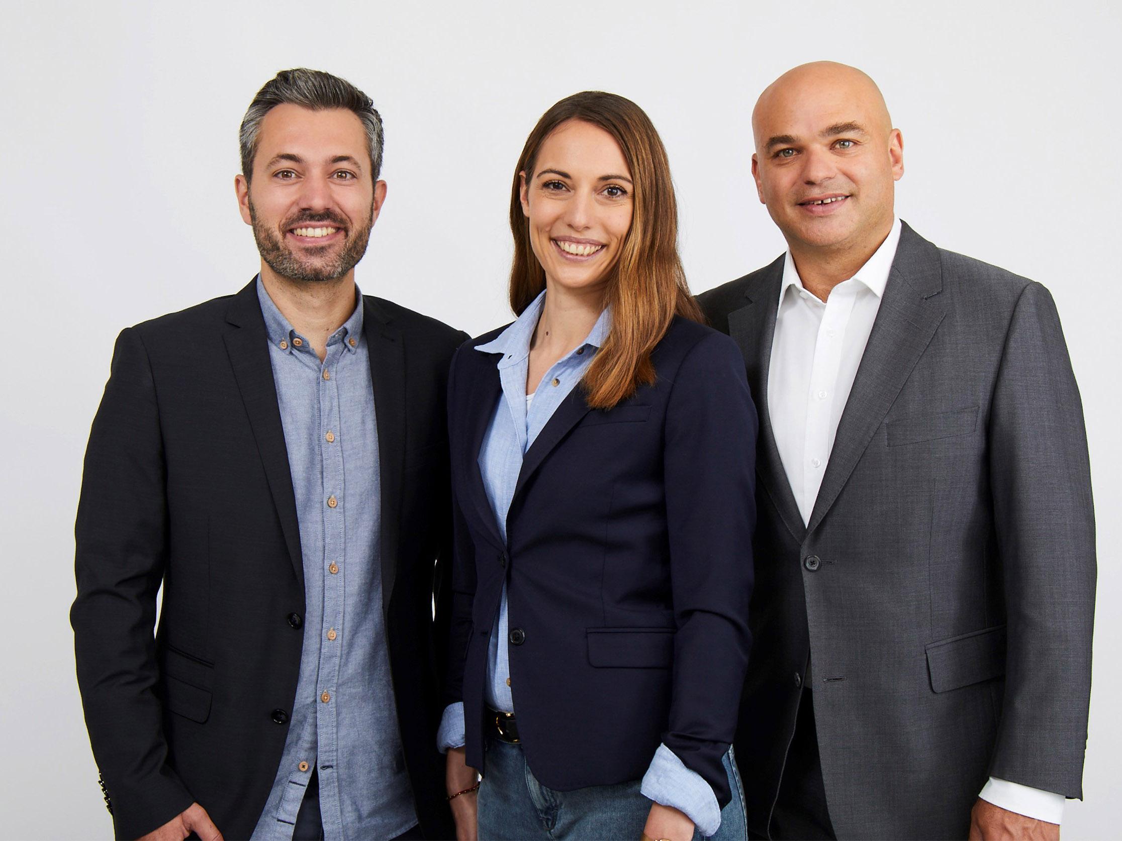 Freuen sich auf den Wahlkampf: Manuel Frick, Selina Frey und Ronny Siev (bisher) (v.l.n.r.).