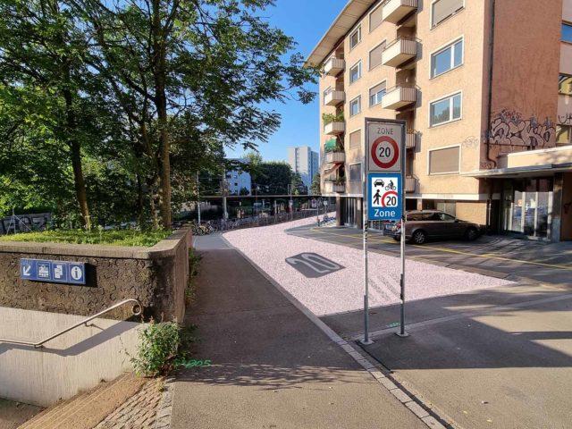 Begegnungszone Dammstrasse