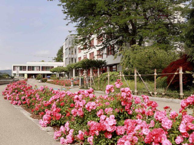 Das Gesundheitszentrum Käferberg ist eine Ausbildungsstätte für diverse Berufe.
